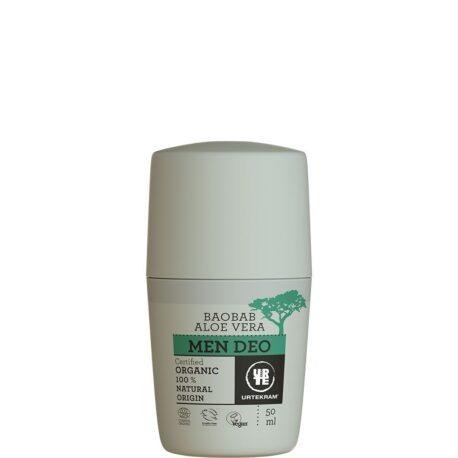 Roll-on deodorant meestele baobabi ja aloe veraga