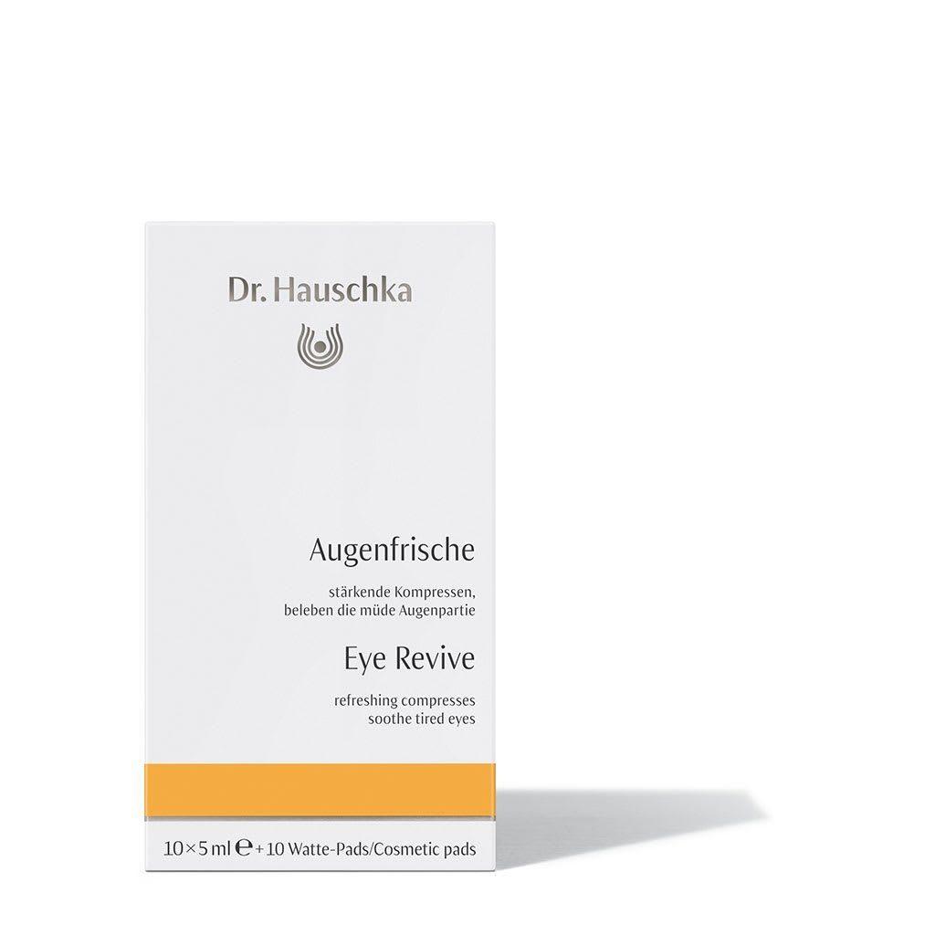 Dr. Hauschka värskendavad silmakompressid
