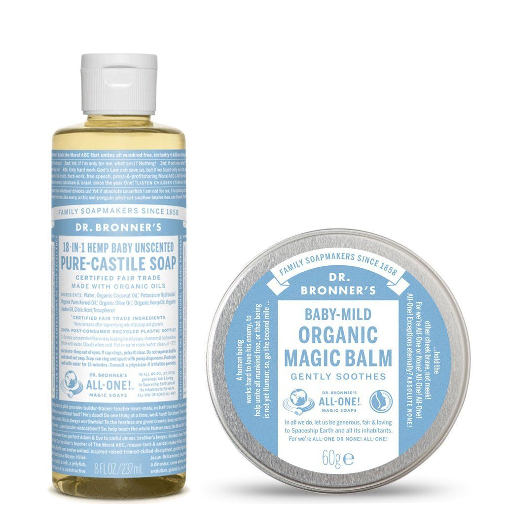 Dr. Bronner's Baby Unscented Value Pack