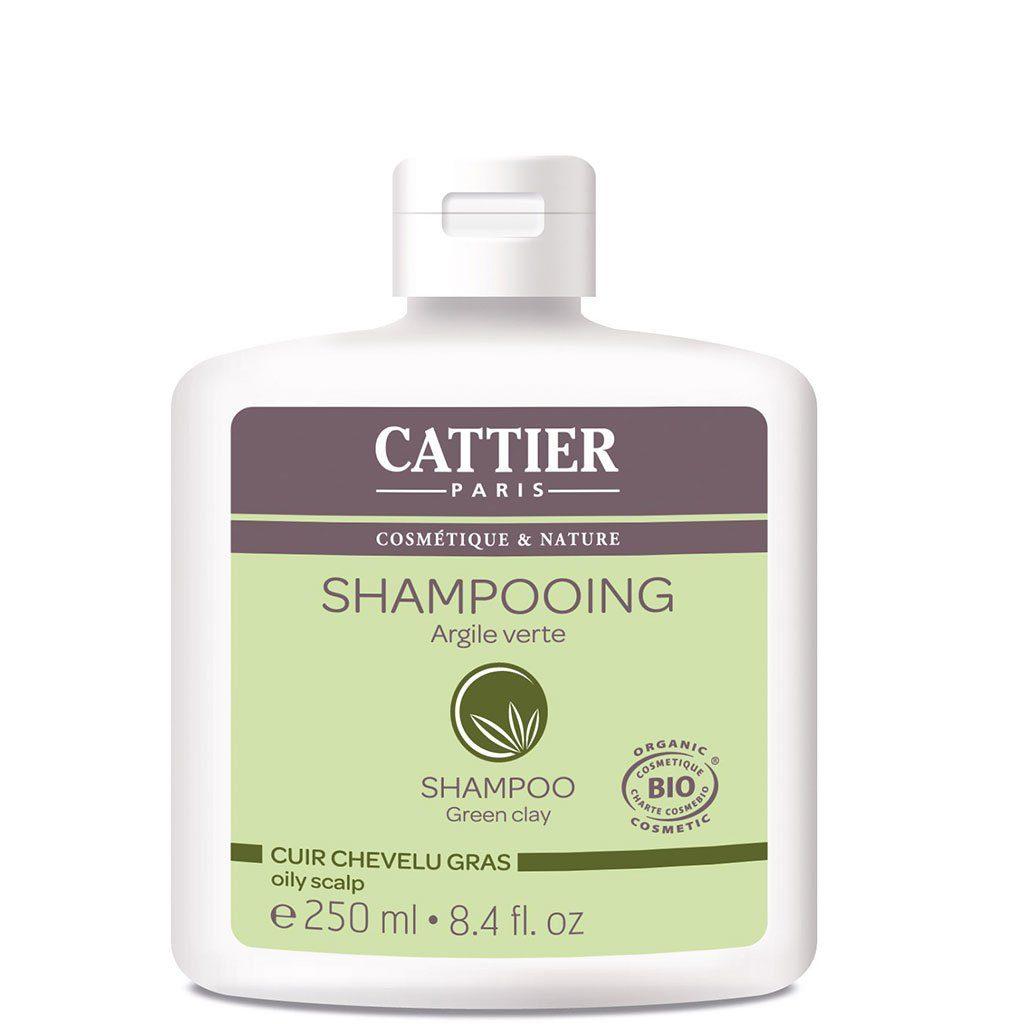 Šampoon rohelise saviga rasustele juustele