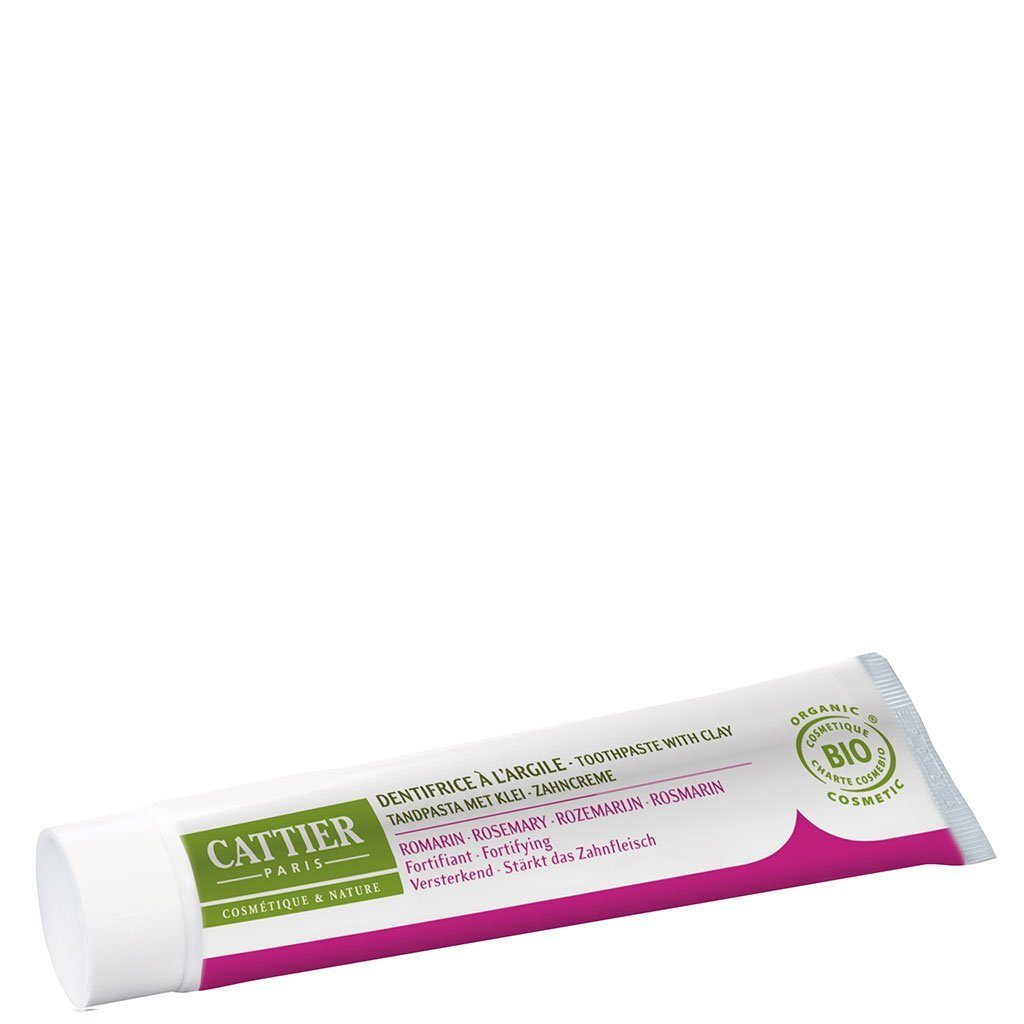 Remineralising Toothpaste with Clay and Rosemary