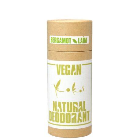 Bergamoti-laimi vegan-deodorant kandelillavahaga
