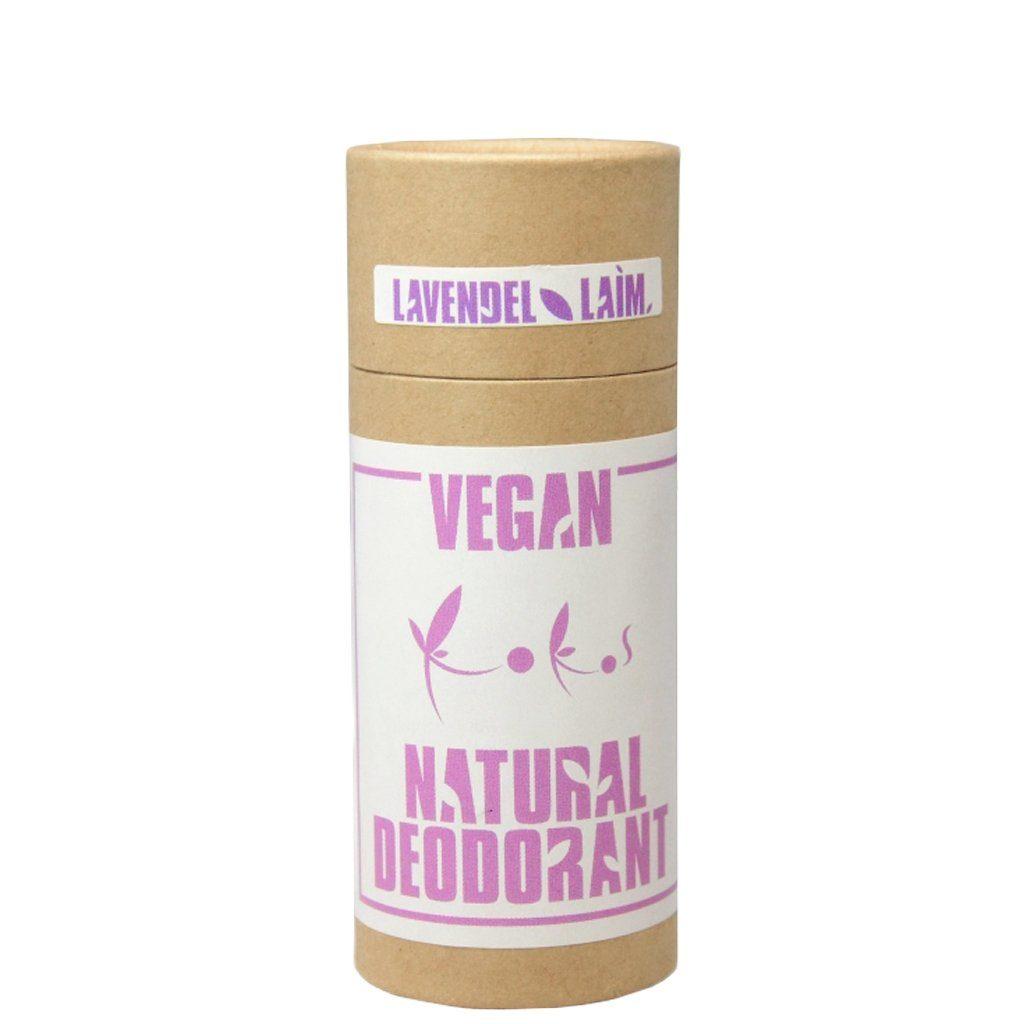 Lavendel-laimi vegan-deodorant kandelillavahaga