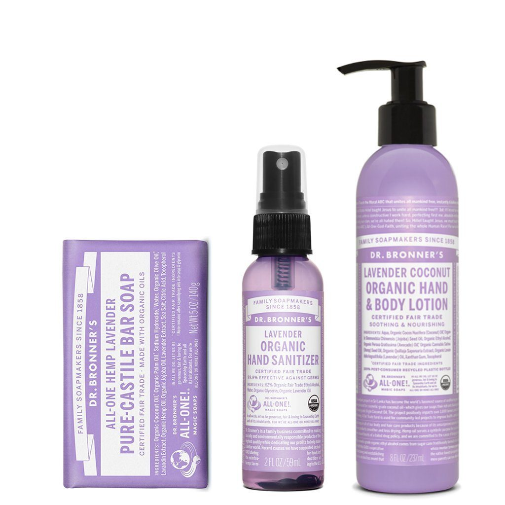 Dr. Bronner's Lavender Value Pack