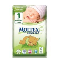 Moltex Nature Newborn ökomähkmed 2-4kg