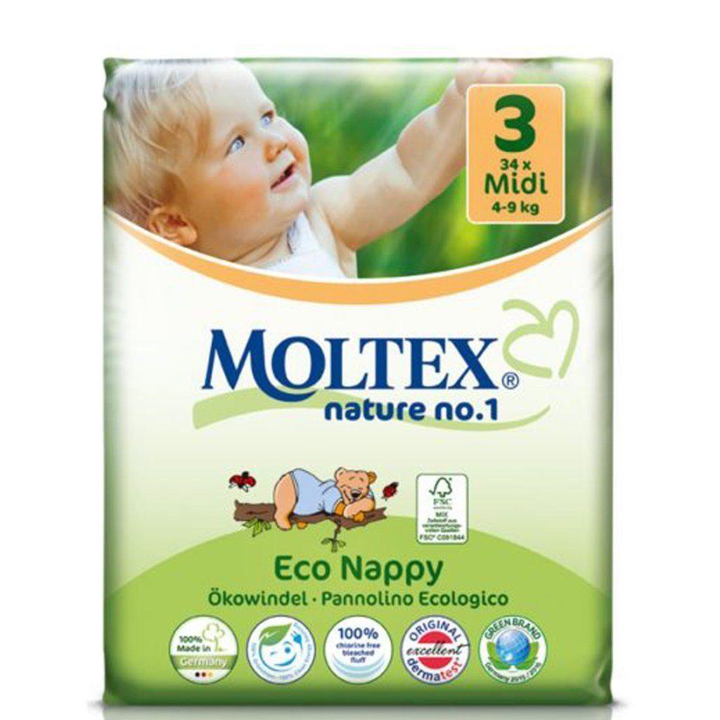 Moltex Nature Midi ökomähkmed 4-9kg