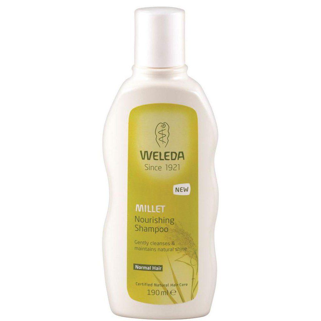 Toitev šampoon hirsiga
