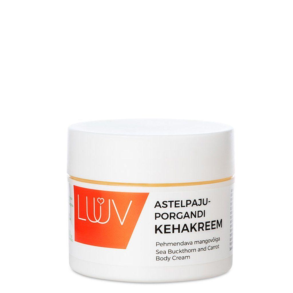 de954489680 Astelpaju-porgandi kehakreem mangovõiga Luuv | Sinu Looduskosmeetika ...
