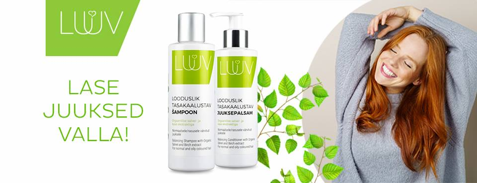632a11e5c81 LUUV on julge ja uuendusmeelne kvaliteetse Eesti looduskosmeetika bränd.  LUUV on loomulik ja armas. See kosmeetika on loodud mõeldes inimesele ja ...