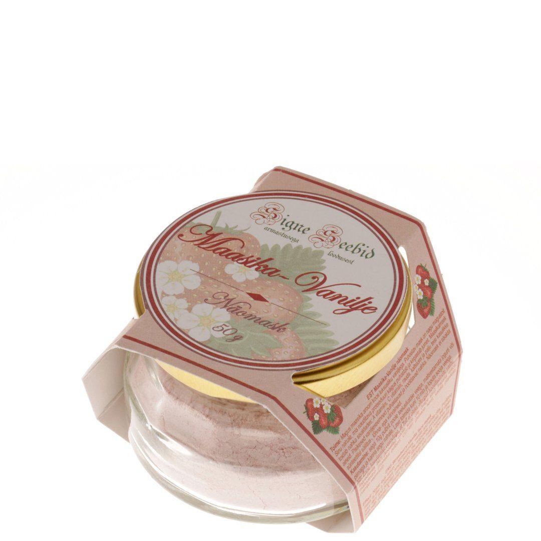 Maasika-Vanilje näomask